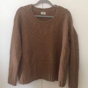 madewell wallace brand oversized knit sweater